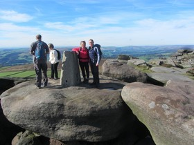 Stanage Trig Point