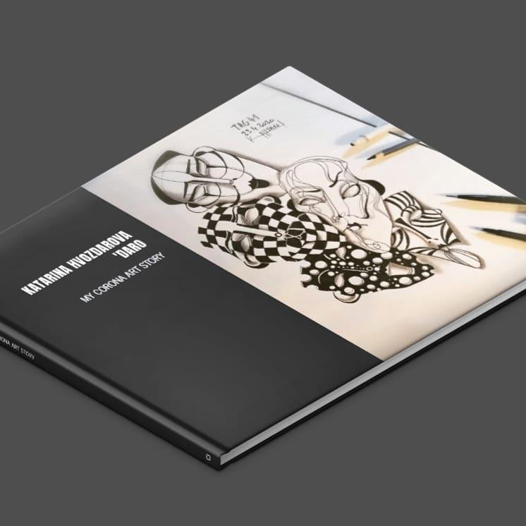 MY CORONA ART DIARY 2020/ ARTBOOK