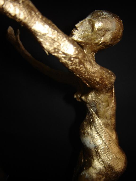 """"""" Die Oscar """" 0,55 m   Mischtechnik / Skulptur / Akt"""