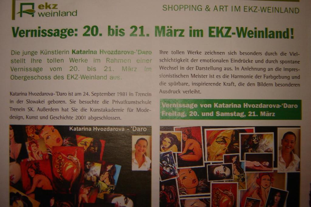 Flyer EKZ Weinland Leibnitz