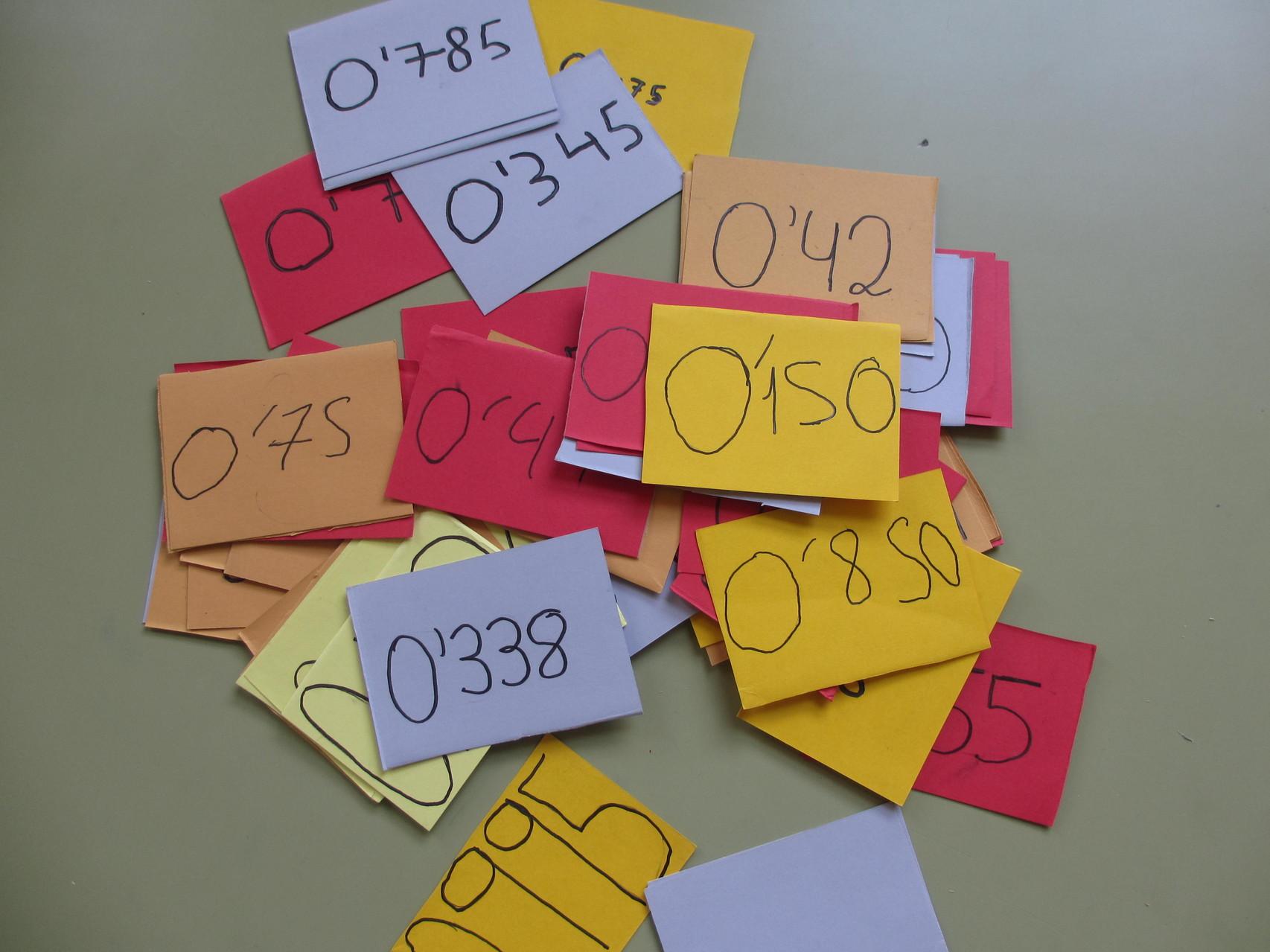 Juegos decimales