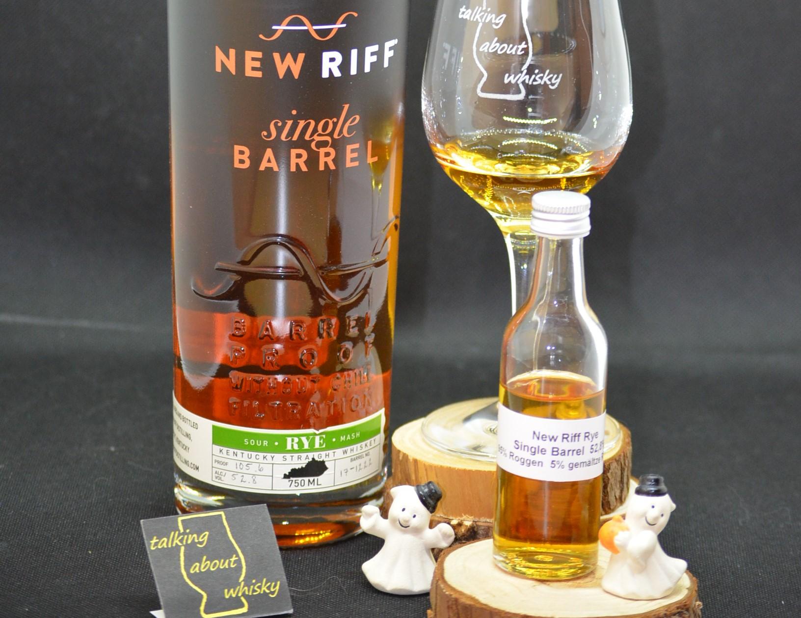 Quick-Notes - New Riff Sour Mash Rye Single Barrel, Barrel Proof