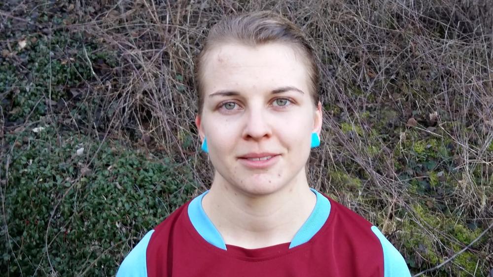 Kam 2018 zur FSG und krönte ihren Einstand im Vorbereitungsspiel gegen den SV Langenstein mit 3 Toren: Melina Werneburg