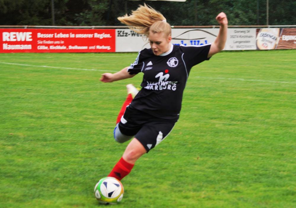 Fiona Kempf ging nach langer Verletzungspause erstmals wieder für die FSG Ebsdorfergrund über die volle Distanz