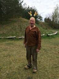 Ein Indianer - Osterhase ;)
