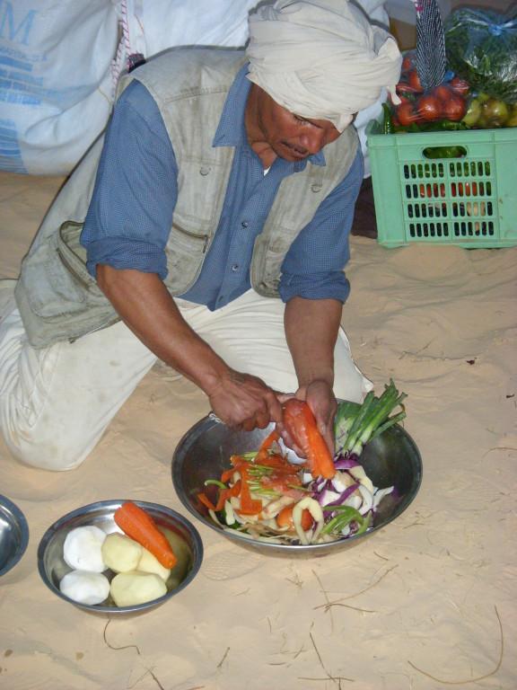 Gemüse für das Abendessen