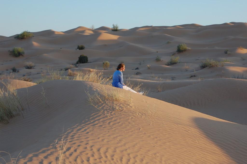 Die Sahara wirken lassen