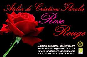 Rose Rouge Créations florales