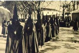 Procesión de Penitencia y Caridad, 1952.