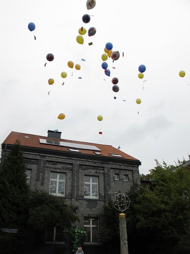 Wie die Rückantworten zeigen, sind einige Ballons bis in den Westerwald bzw. ins Sauerland geflogen.