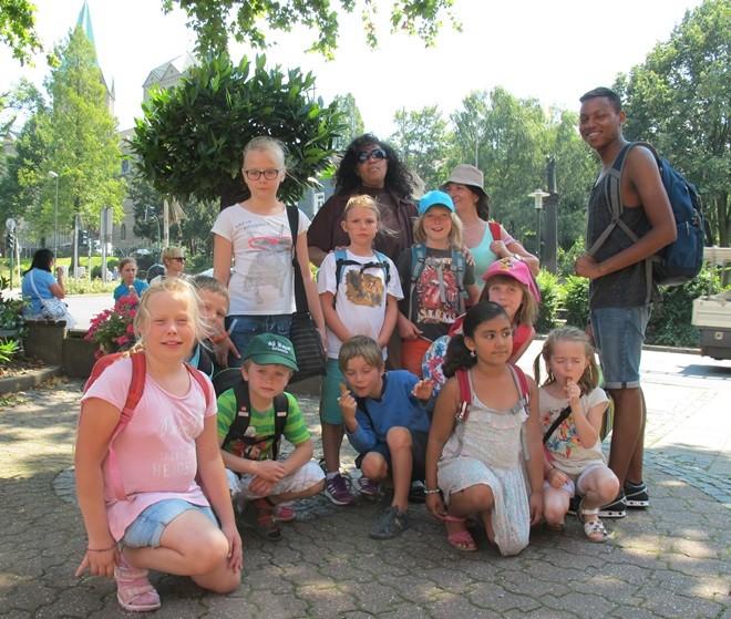 Einer unserer Ausflüge in den Sommerferien ging zum Baldeney-See in Essen-Werden