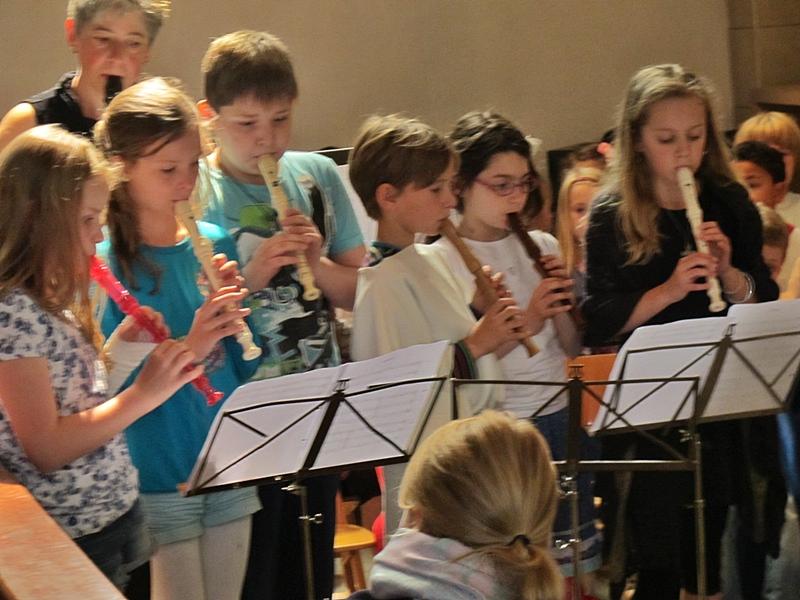 Das Musical über den heiligen Franziskus - eine Überraschung für alle Abschiedsgäste