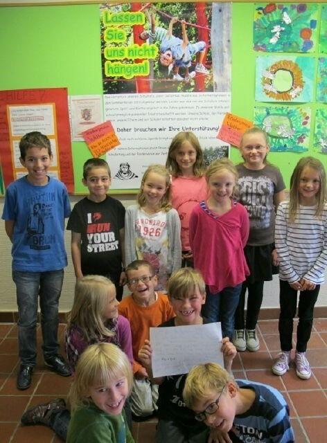 Schüler planen Aktionen für den Erhalt des Klettergerüstes