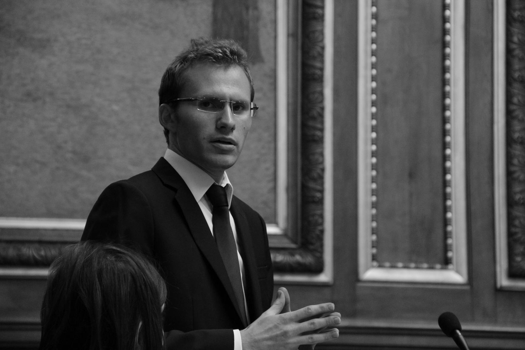 Discours de Benjamin Boutin à la joute des Conférences 2014