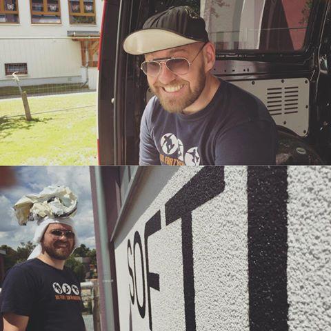 Graffitikünstler aus Berlin Brandenburg bemalen 3d Bilder