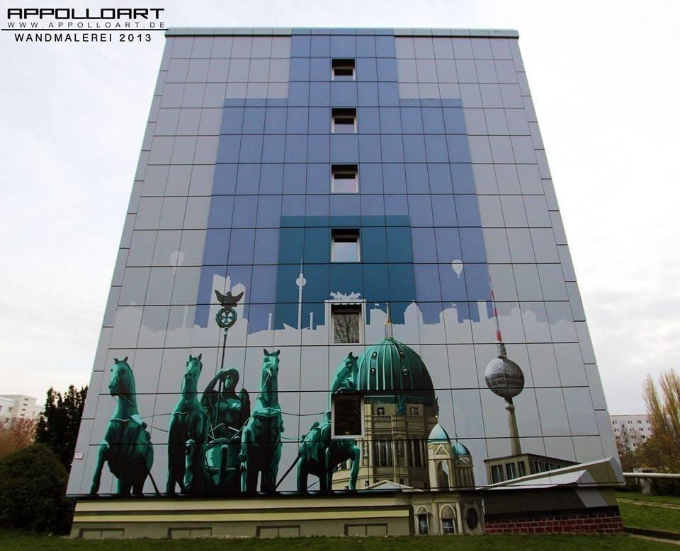 Graffiti Wandgestaltung berlin lichtenberg