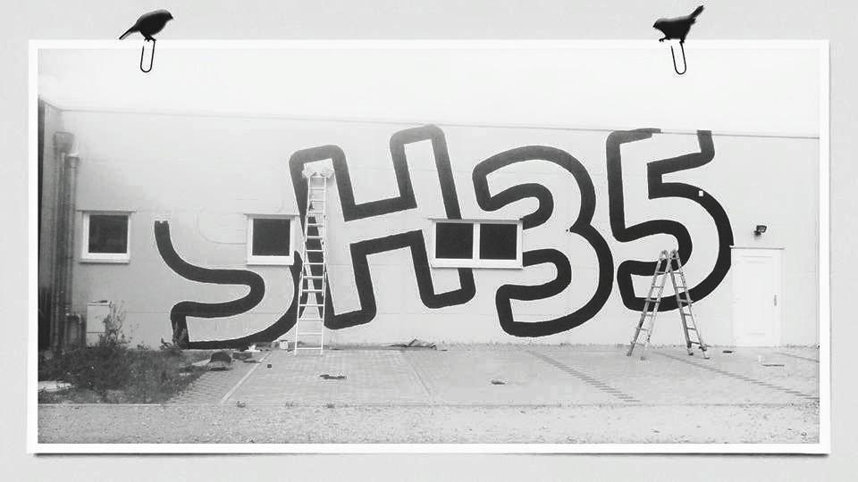 Graffiti Logo vom Graffitikünstler