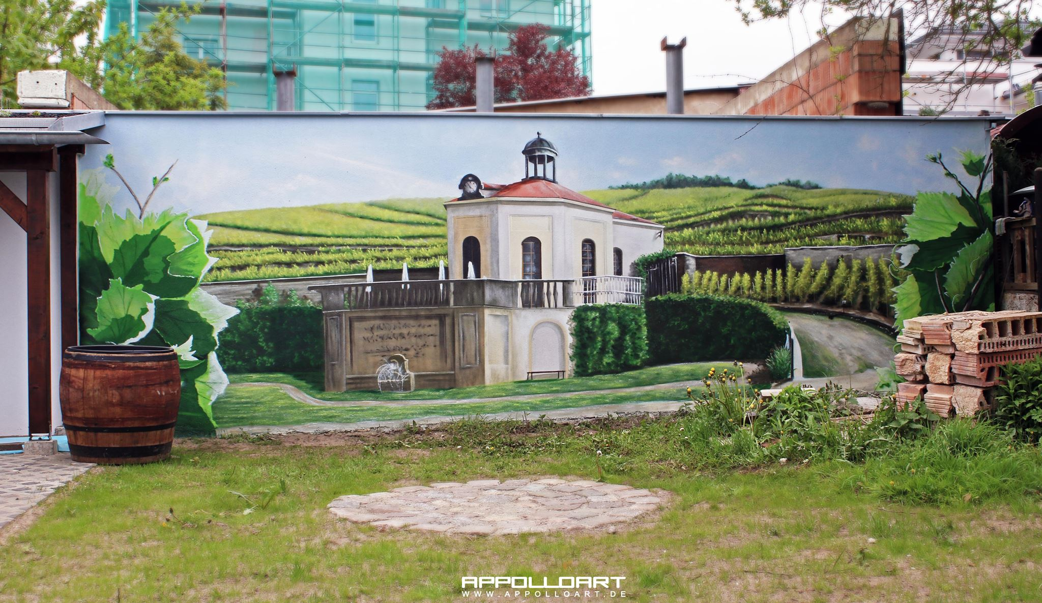 Landschaft - AppolloART Graffiti Airbrush Wandgestaltung ...