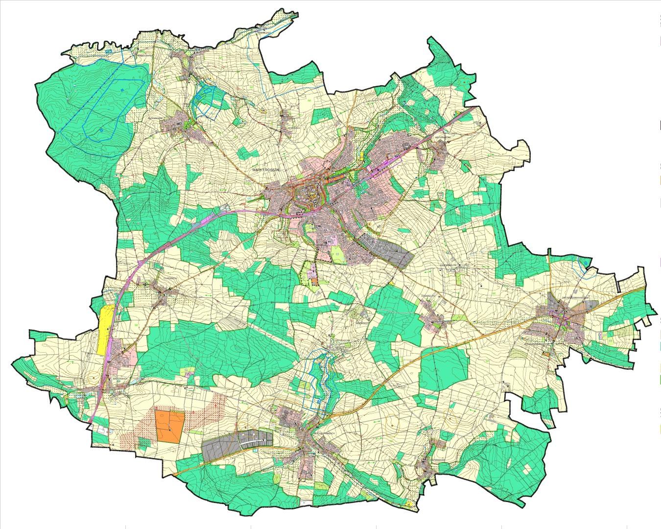 Flächennutzungsplan (FNP) Roßtal