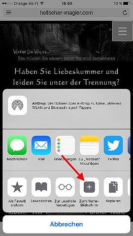 mobile Hellseher - Magier App