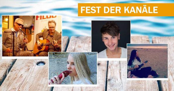 Harp Mitch und Helmut Jakobs, Jessi Duhn, Christopher Held, Milo, Fest der Kanäle