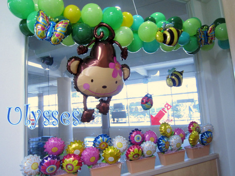 つくば市バルーンショップユリシス バルーンアート キッズスペース バルーン装飾 店舗装飾 店内装飾 風船