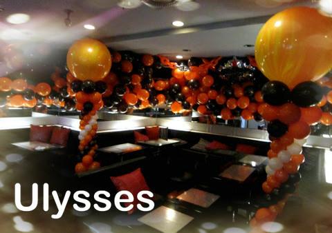 つくば市バルーンショップ ユリシス バルーンアート クラブ 誕生日バルーン装飾 バルーン専門店 ナイトワーク キャバクラキャストのバースデー