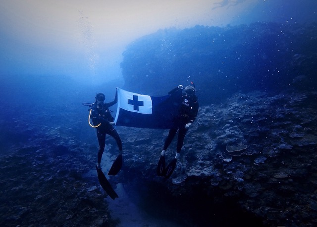 scuba diving in Tonga