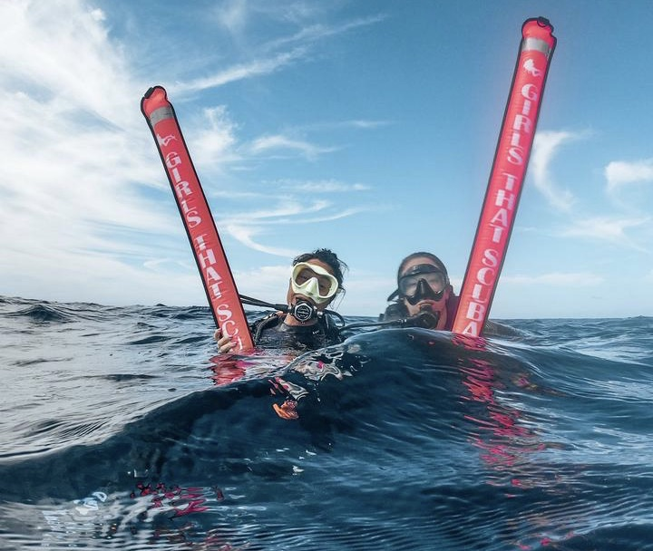 Details about  /Oceanic Buoy w// Pouch Dive Marker