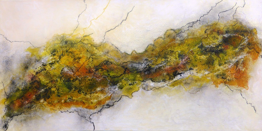 Nr. 272 - Floating Painting 50x100x4,5 cm