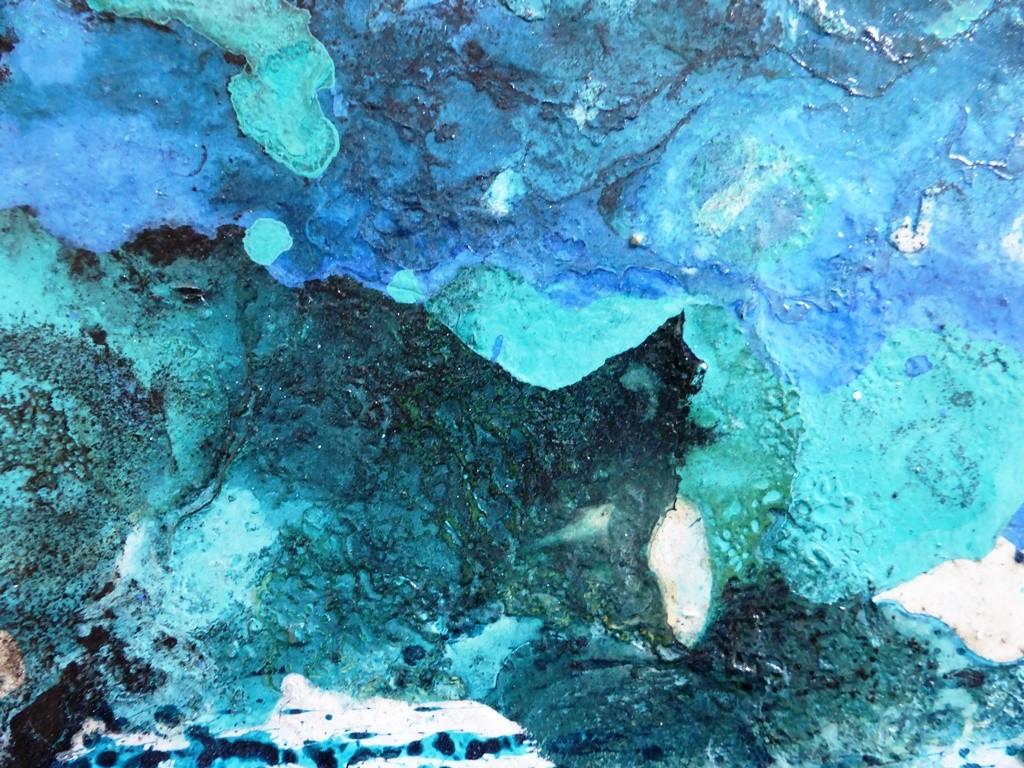 Nr. 279 - Öl- Mischtechnik 4 St. - Detail-Ansicht