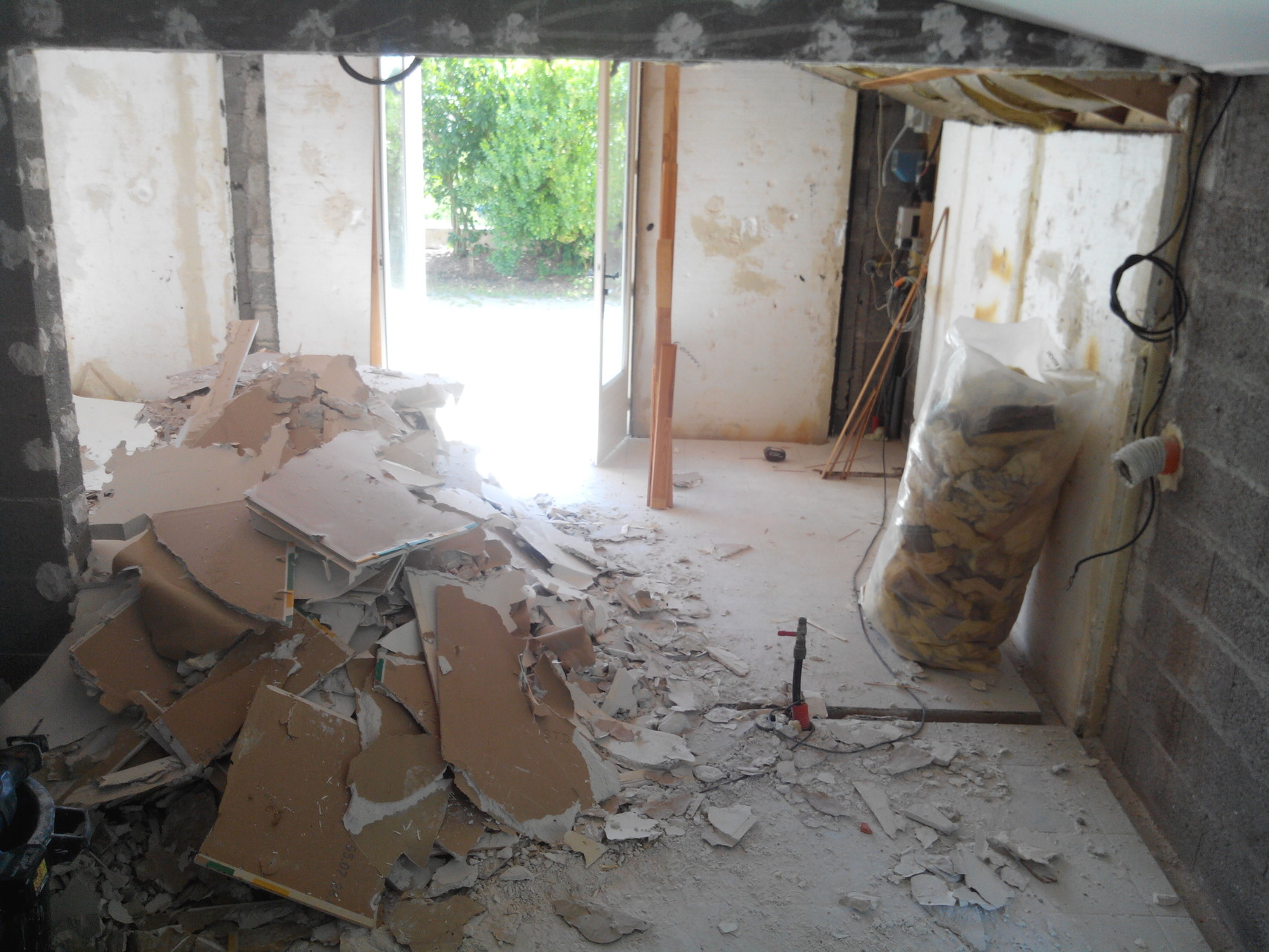 Renovation maison de 1970 plaquiste isolation etanch it l 39 air locati - Maison 1970 renovation ...