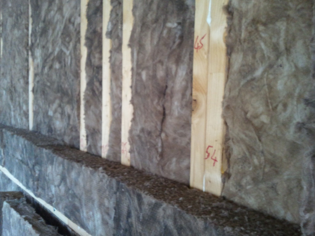 Double couche laine de verre 100mm haute densité