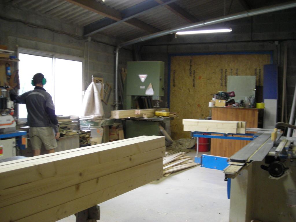 Fabrication de menuiseries intérieur galandage ou coulissante en applique