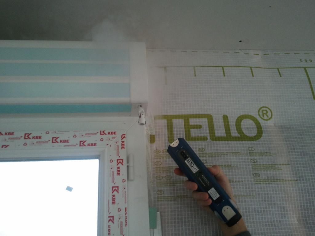 Test à la fumée