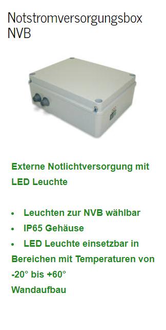 Notstromversorgungsbox NVB