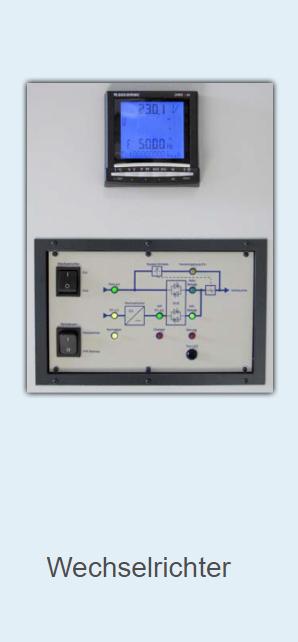 Wechselrichter 1-phasig/ 3-phasig