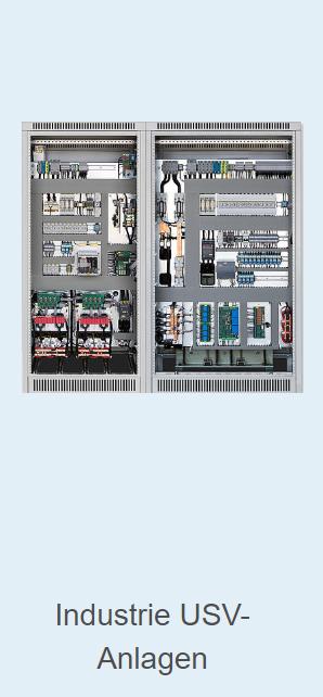 Industrie-USV-Anlagen