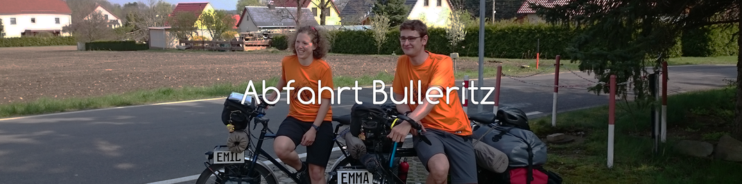 Nach ein paar Tagen machen wir Stop in Bulleritz - bei Stefans Eltern
