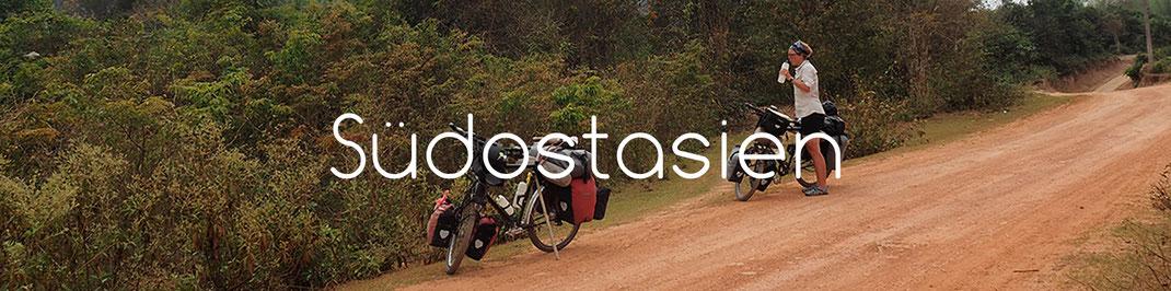 Radreise durch Laos - Alles in 12 Taschen