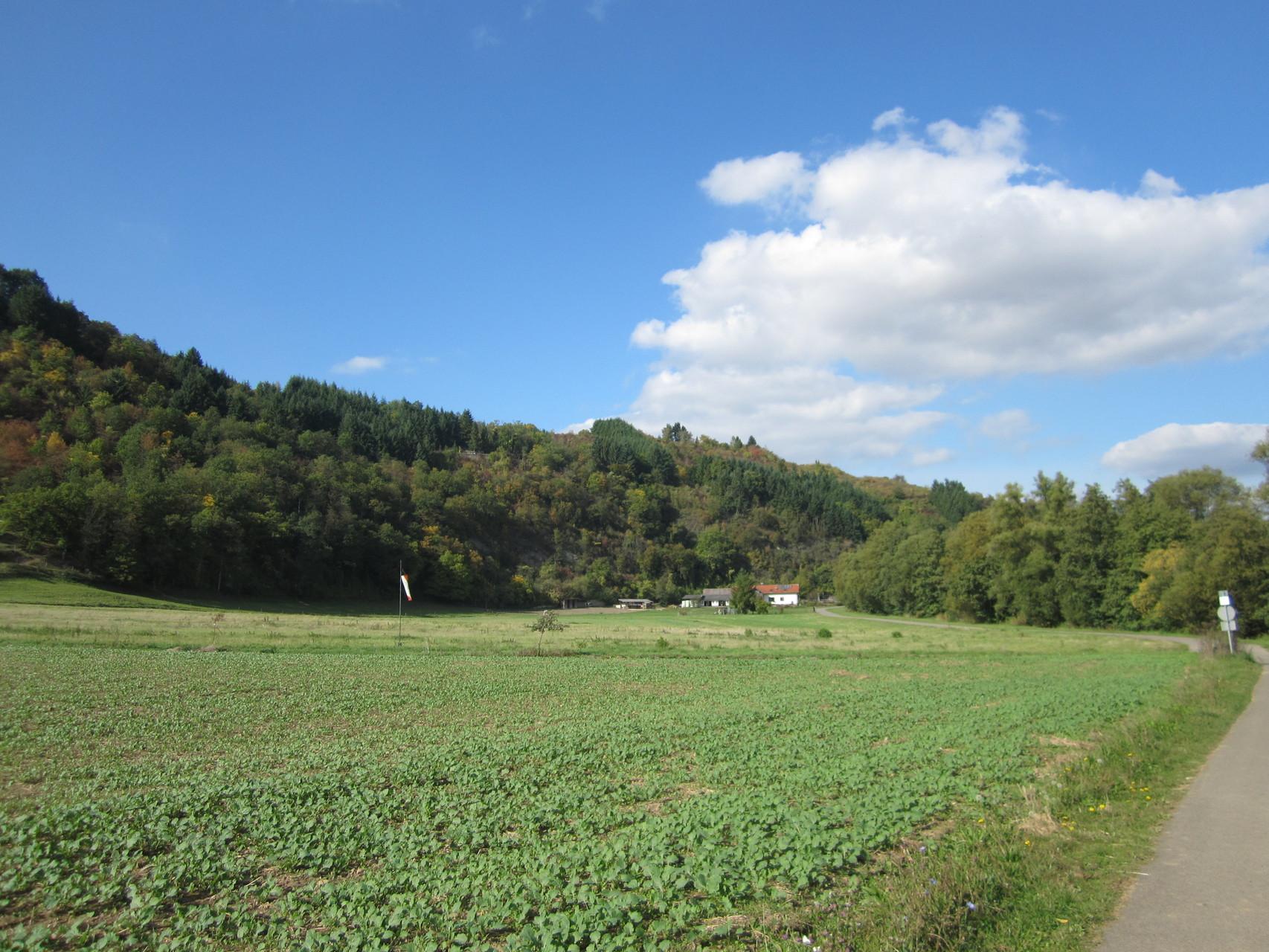 Radweg nach Rehborn