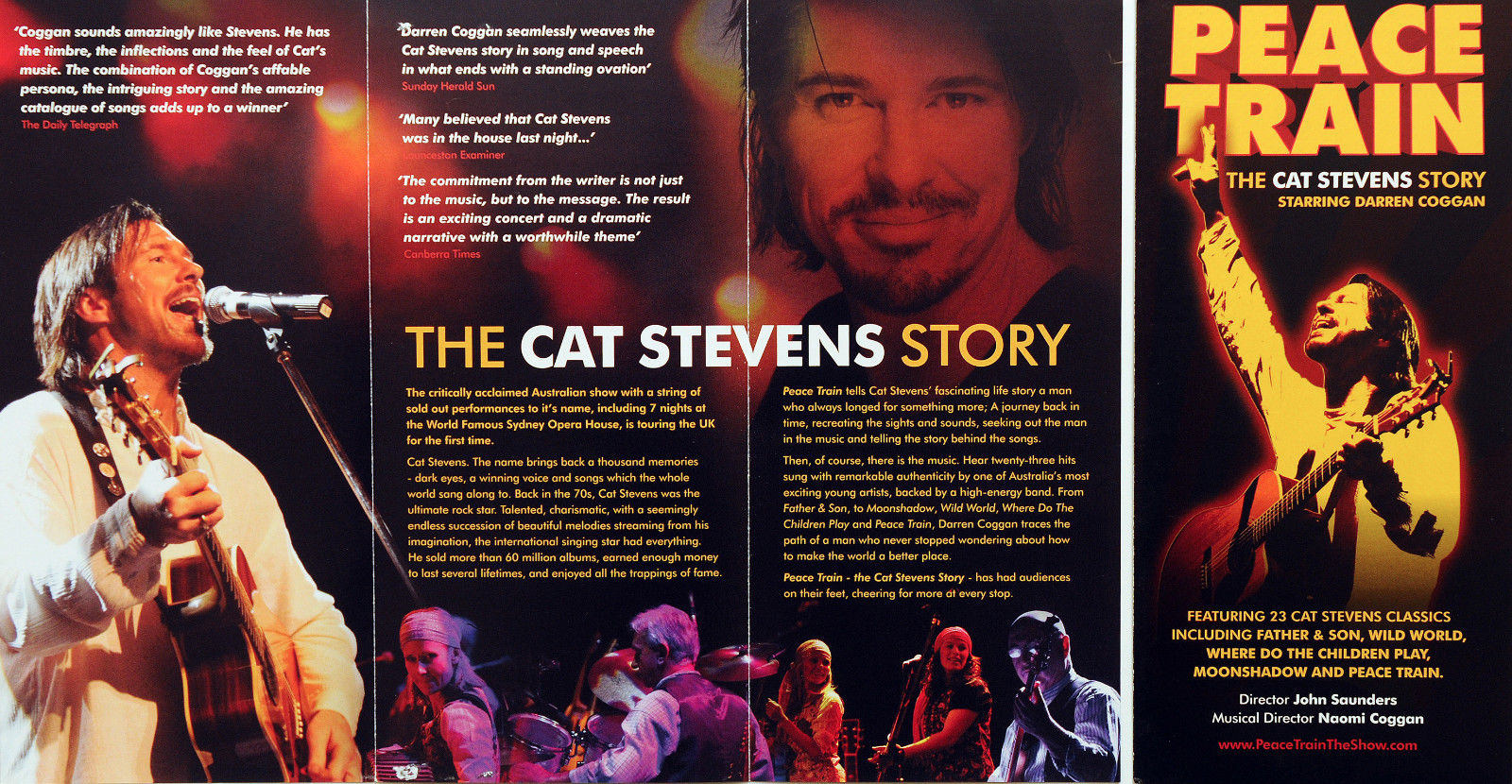 Peace Train The Cat Stevens Story Cat Stevens