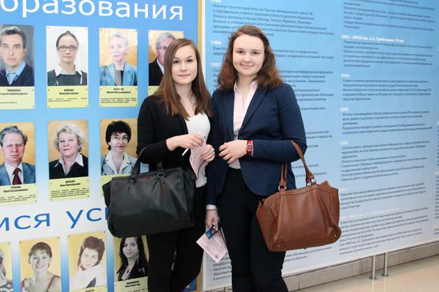 Татьяна Фомичёва и Александра Герасименко.