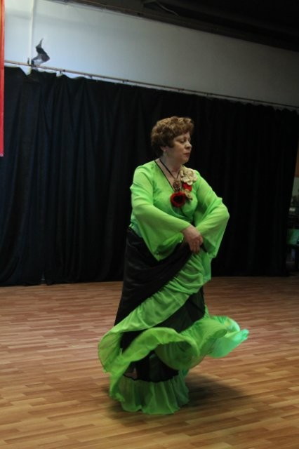 Выступление на Гран-при Москвы по восточным танцам