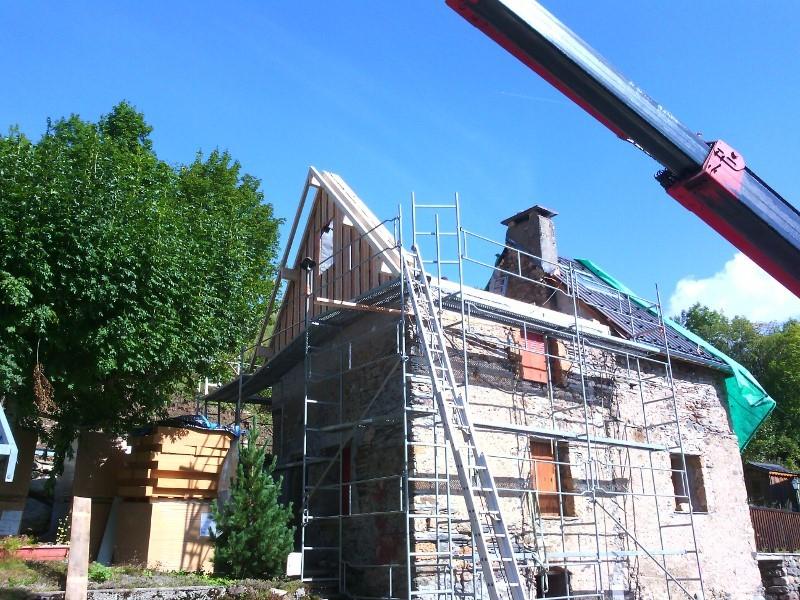 Rénovation charpente et couverture