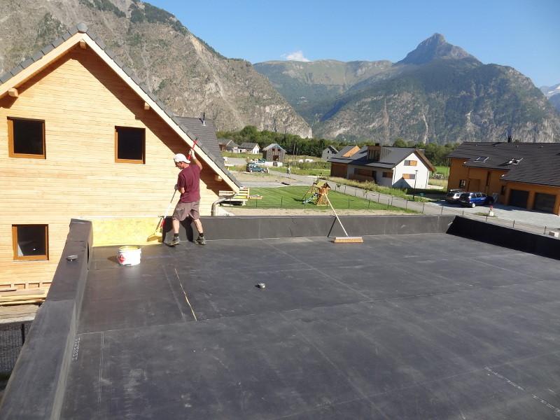 Etanchéité de toit terrasse en EPDM