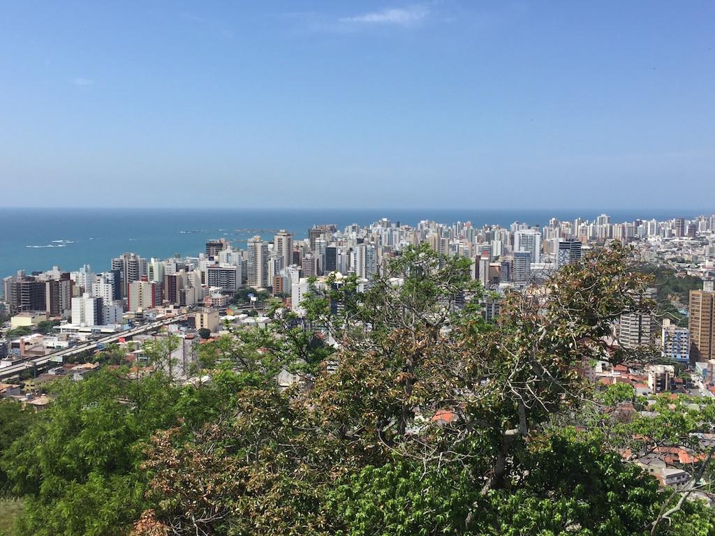 Aussicht vom Konvent auf das verdichtete Wohnen in Villa Velho!