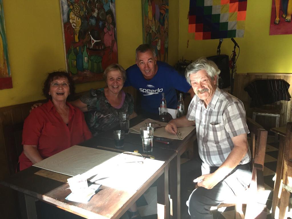 und in Tilcara treffen wir unser Freunde aus La Falda!