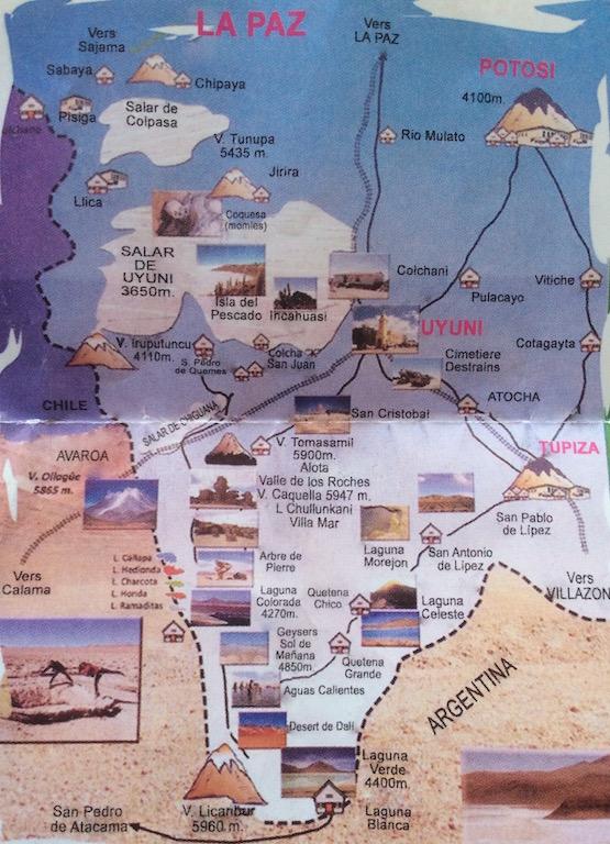 Unsere 4x4 Tour, 1'000 km über den Salar de Uyuni und Sud-Lipez