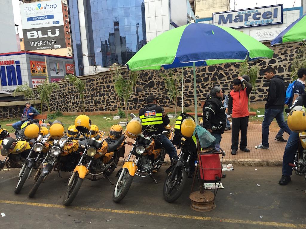 Mototaxi, das richtige Transportmittel in Ciudad del Este!